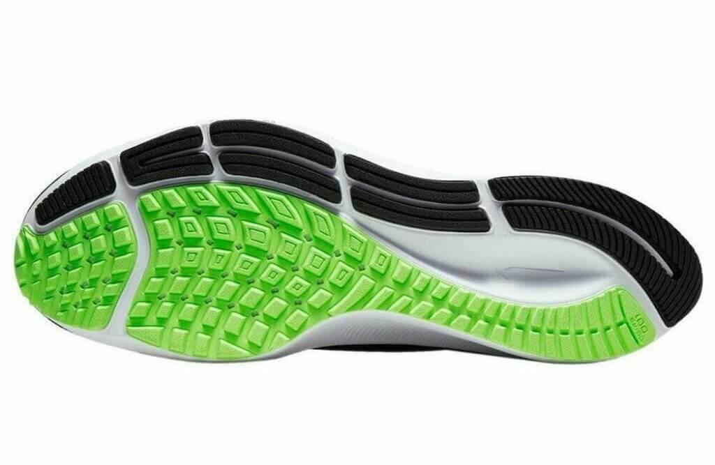 Nike Pegsus 37 rubber outsole