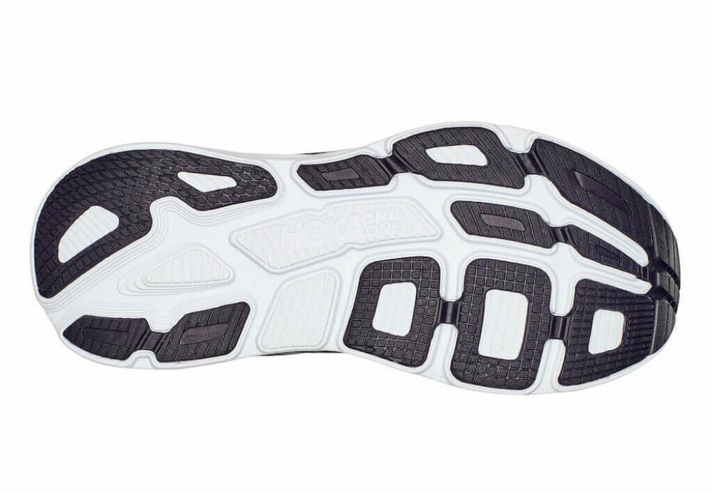Hoka Bondi 7 rubber eva foam outsole