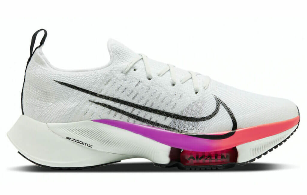 Nike Air Zoom Tempo NEXT% Flyknit road running shoe
