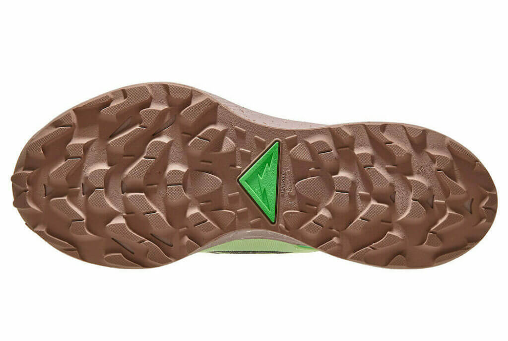Nike Pegasus Trail 2 outsole rubber lugs
