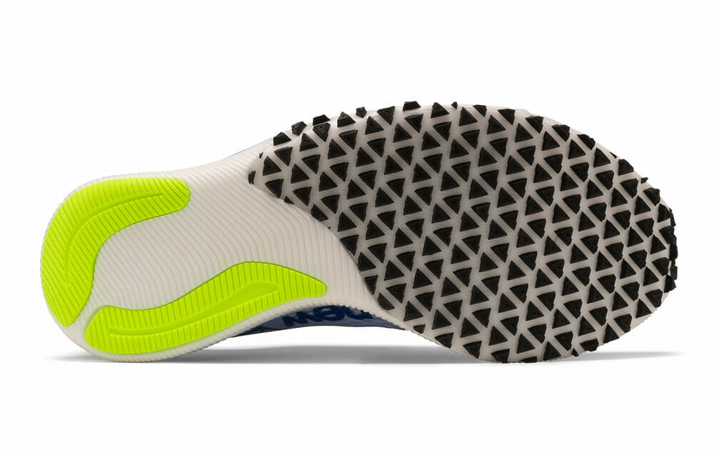 New Balance FuelCell RC Elite rubber outsole