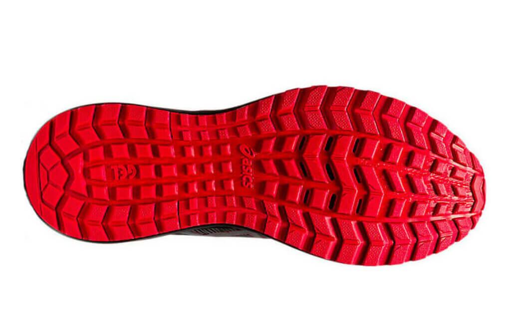 Asics Gel Scram 6 outsole rubber lugs