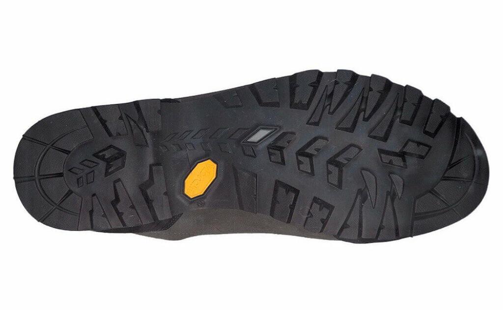 Scarpa Zodiac Plus GTX rubber vibram outsole