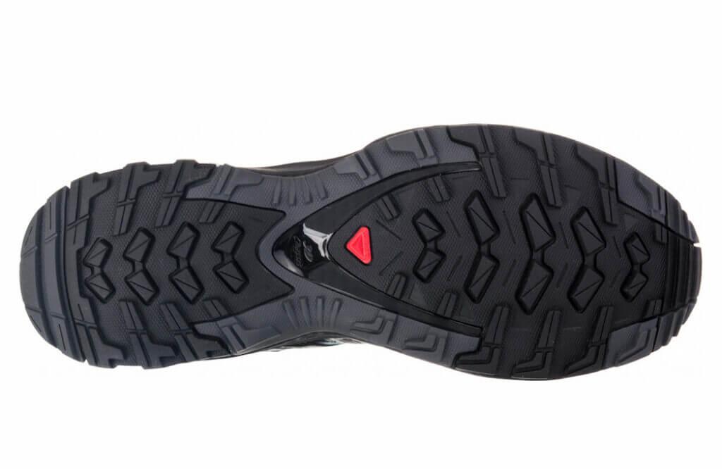 Salomon XA Pro 3D v8 outsole contagrip rubber lugs