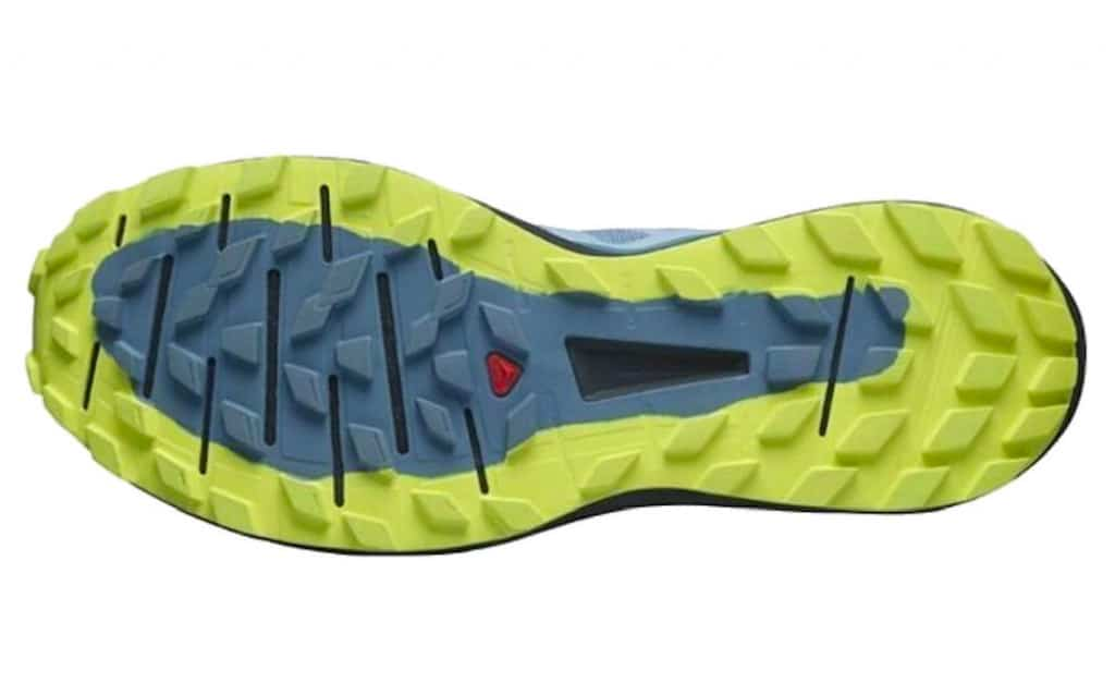 Salomon Sense Ride 4 contagrip rubber outsole with lugs