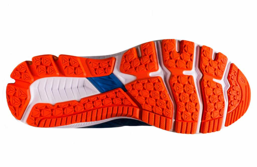 Asics GT 1000 10 rubber outsole