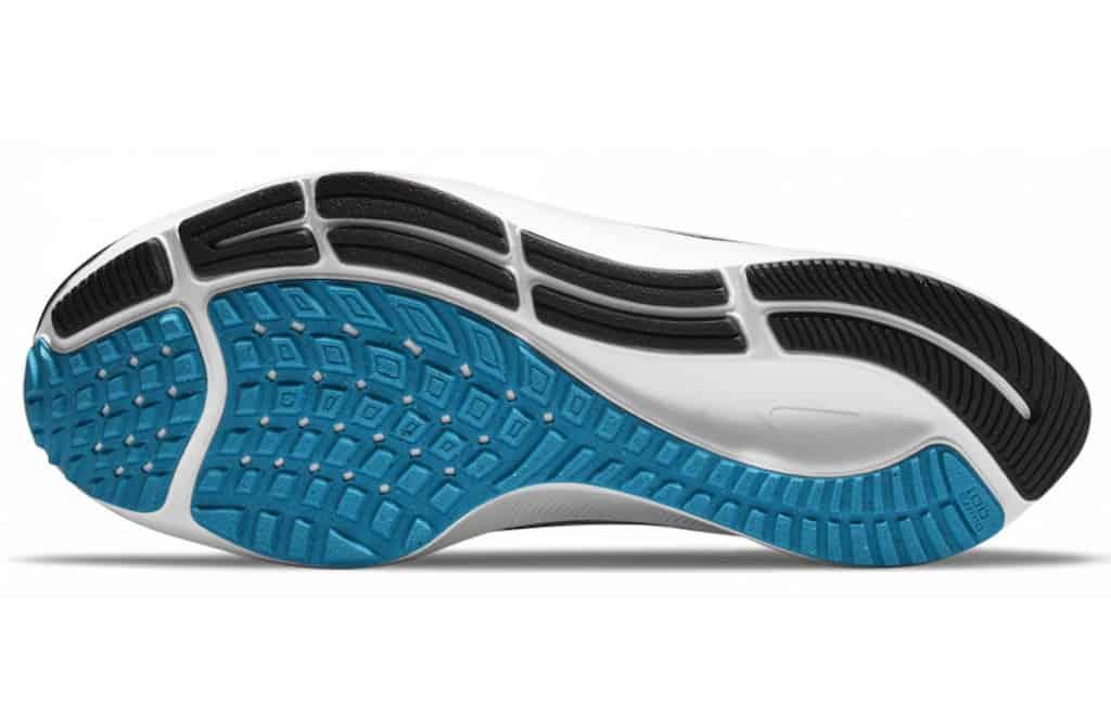 Nike Pegasus 38 rubber outsole
