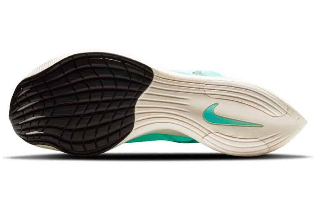 Nike ZoomX Vaporfly Next 2 rubber foam outsole