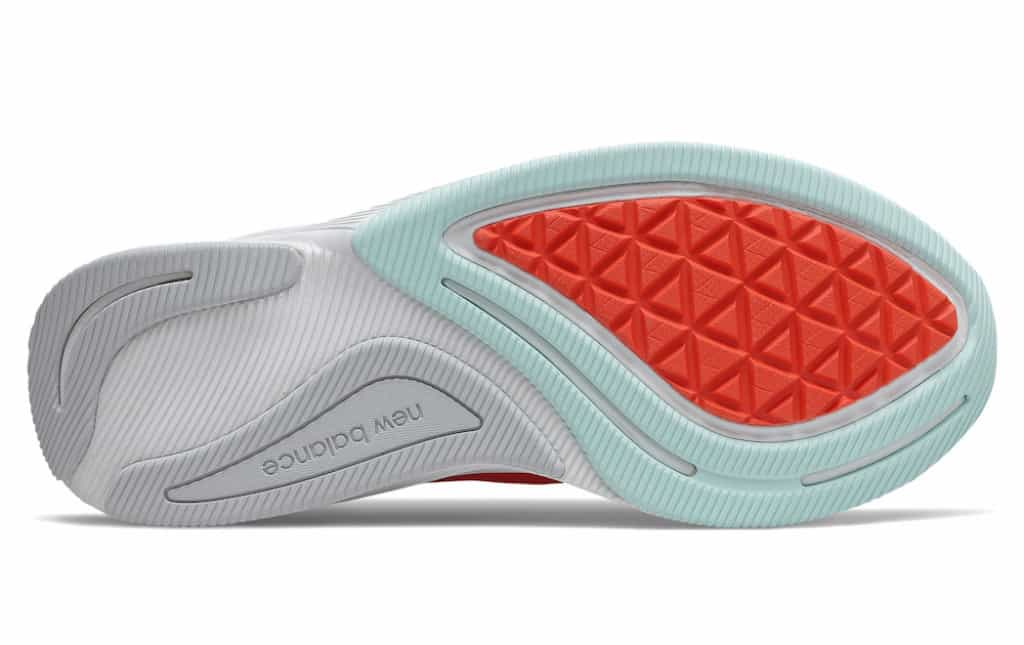 New Balance FuelCell Prism rubber outsole Ndurance