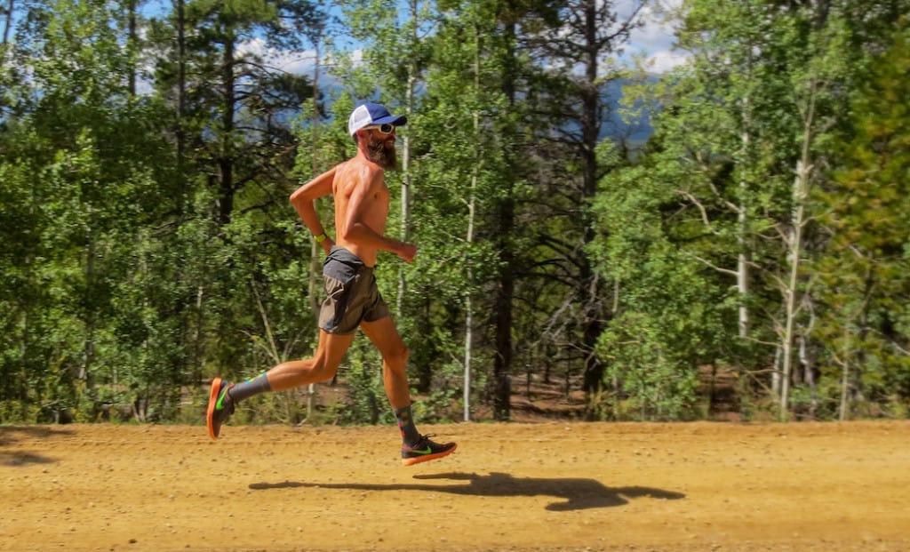 Rob Krar at the Leadville Trail