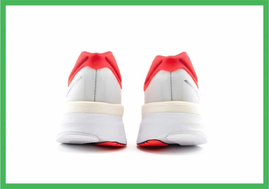 Adidas Adizero Boston 10 heel