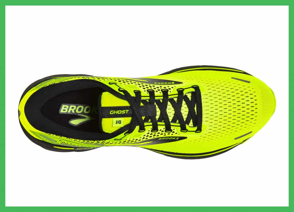 engineered mesh upper Brooks Ghost 14 run shoes