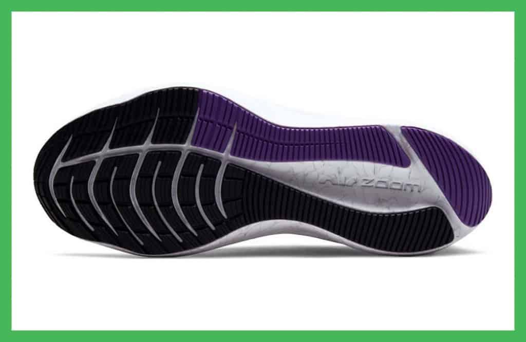 Nike Winflo 8 rubber outsole
