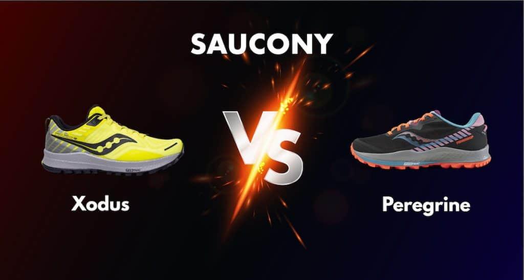 Saucony Xodus vs Peregrine comparison