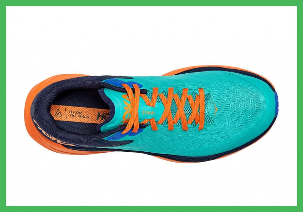 Hoka Zinal trail shoe mesh upper