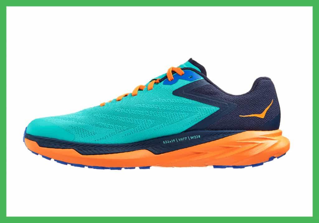 Hoka Zinal trail running shoe