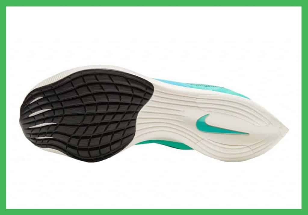 Nike ZoomX Vaporfly NEXT% 2 rubber outsole