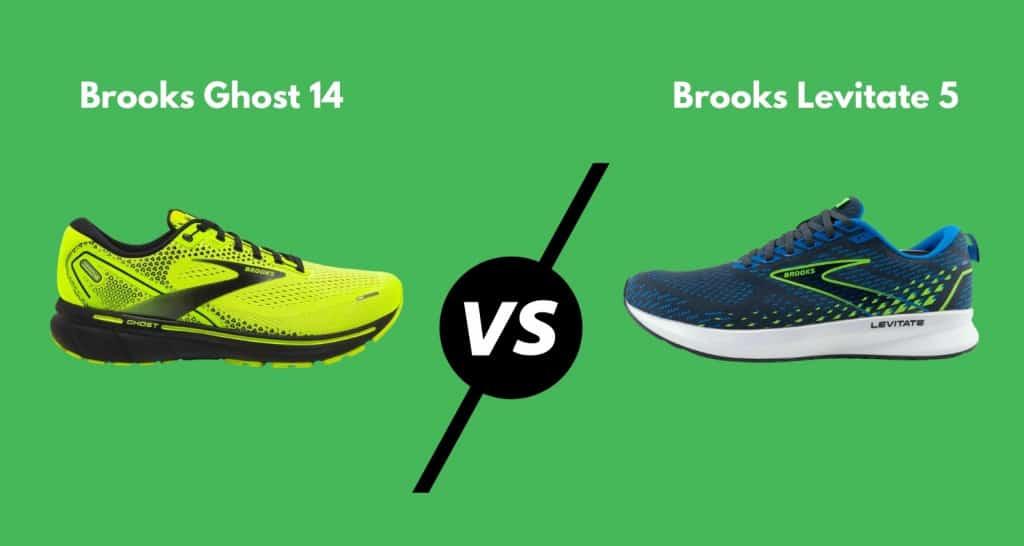 Brooks Ghost vs Levitate