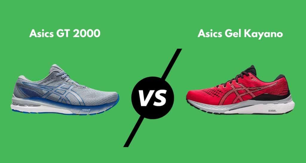 Asics GT 2000 10 vs. Gel Kayano 28 comparison