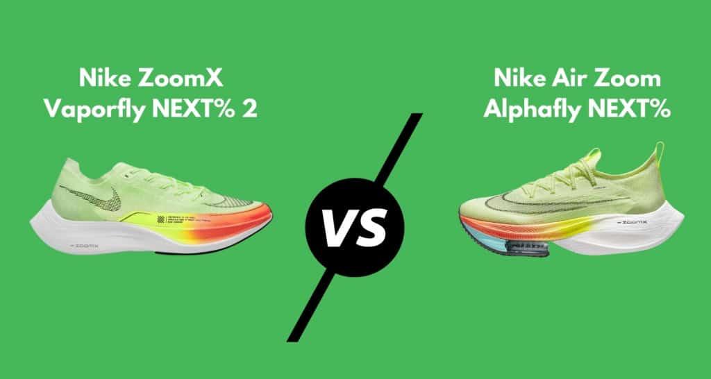Nike Vaporfly vs. Alphafly